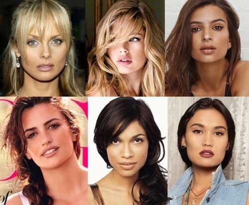 Развитые челюсти у женщин